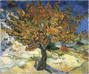 Vincent van Gogh: The Mulberry Tree (1889)